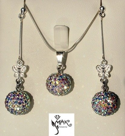 KOL 205/ CRYSTAL AB SWAROVSKI ELEMENTS.